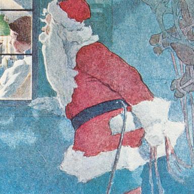 Santa Claus NYT 1908