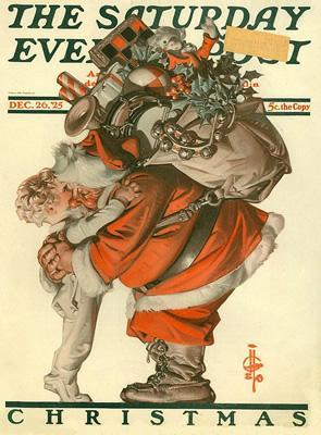 Santa Claus NYT 1925